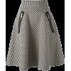 Coast Midi Houndstooth Skirt - Skirts -
