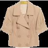 Coat Beige - Jacket - coats -