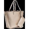 Coated-effect shopper - Hand bag -