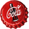 Coca-Cola brooch sticker - Other jewelry - $11.99