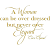 Coco Chanel Quote - Tekstovi -