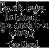 Coco quote - Texts -