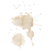 Coffee stain - Ilustracje -