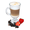 Coffee and strawberries - Beverage -