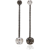 Colette Jewelry Ball Mismatched 18K Whit - Earrings - $6.50