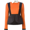 Color block blouse - Shirts -