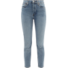Comfort Stretch Ankle Crop high-rise jea - Jeans -