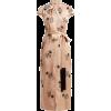 Comme Des Garçons Pre-Owned floral jacqu - ワンピース・ドレス -