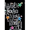 Congrats Card - Testi -