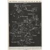 Constellations map - Ilustracije -