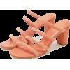 Coral. Orange. Flats - Flats -