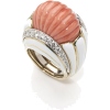 Coral Ring - Rings -