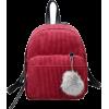 Corduroy backpack - Plecaki -