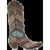 Corral Ladies Antonia Boho Turquoise/Bro - Boots - $199.00