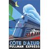 Cote d'Azur Pullman Express ad - Illustrations -