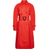 Cotton-Blend Coat with Belt - Jaquetas e casacos -