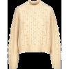 Cream sweater - プルオーバー -