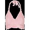 Crochet Top - Majice - kratke -