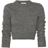 Crop Carven Sweater - Long sleeves shirts -