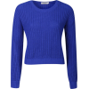 Cropped Sweater - Pullovers -