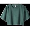 Cropped Tee Shirt - T-shirts -