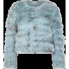 Cropped fur jacket - Kurtka -