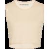 Crop top beige colour - Capri & Cropped -