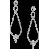 Crystal Drop Earrings - Cinturones -