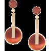 Crystalline Agate earrings - Naušnice - $999.00  ~ 858.03€