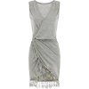 Crystalline tasel grey dress - Dresses -