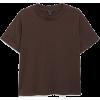 Cuffed Sleeve Tee - T-shirts -