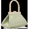 Cult Gaia Estelle Mini Croc Embossed Lea - Hand bag -