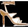 Cult Gaia Soleil Lace Up Leather Sandals - Sandals -