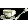 Cup Saucer Spoon - Przedmioty -