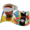 Cup of tea with chocolates - ドリンク -