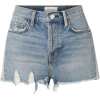 Current/Elliot Distressed Shorts - Spodnie - krótkie -