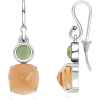 Cushion Citrine Earrings - Earrings - $509.00