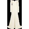 DANIELLE FRANKEL Off-the-shoulder pearl- - Wedding dresses - $6,990.00