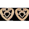DANNIJO Gold-plated earrings - Ohrringe -