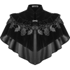DARK IN LOVE ANEMONE VELVET CAPE - Bolero -
