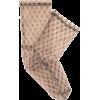 DARNER SOCKS  Fishnet-print mesh ankle - Other -