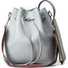DAUNAVIA blue grey bag - Torbice -
