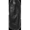 DAVID KOMACoated cotton-blend midi skirt - Skirts - £700.00  ~ $921.04
