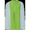 DELPOZO Bicolor Knit Cape - Jacken und Mäntel -