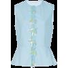 DELPOZO Embroidered Peplum Topvv - Hemden - kurz -