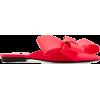 DELPOZO Slip-On Leather Mules - Mocasines -