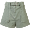 DEREK LAM 10 CROSBY Belted Stretch Chino - Shorts -