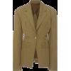 DEVEAUX green crepe jacket - Giacce e capotti -