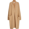 DEVEAUX light brown wool oversized - Cardigan -