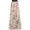 D&G Floral Skirt - Skirts -